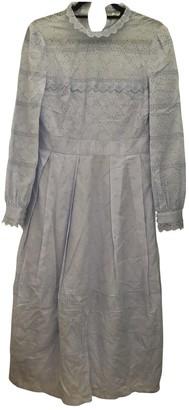 Vilshenko Blue Cotton Dresses