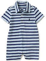 Ralph Lauren Baby Boys 3-24 Months Striped Polo Shortall