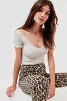 Urban Outfitters UO Diana Off-The-Shoulder Top