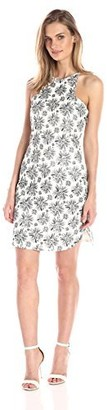 Lucca Couture Women's Brushed Floral-Print Dress