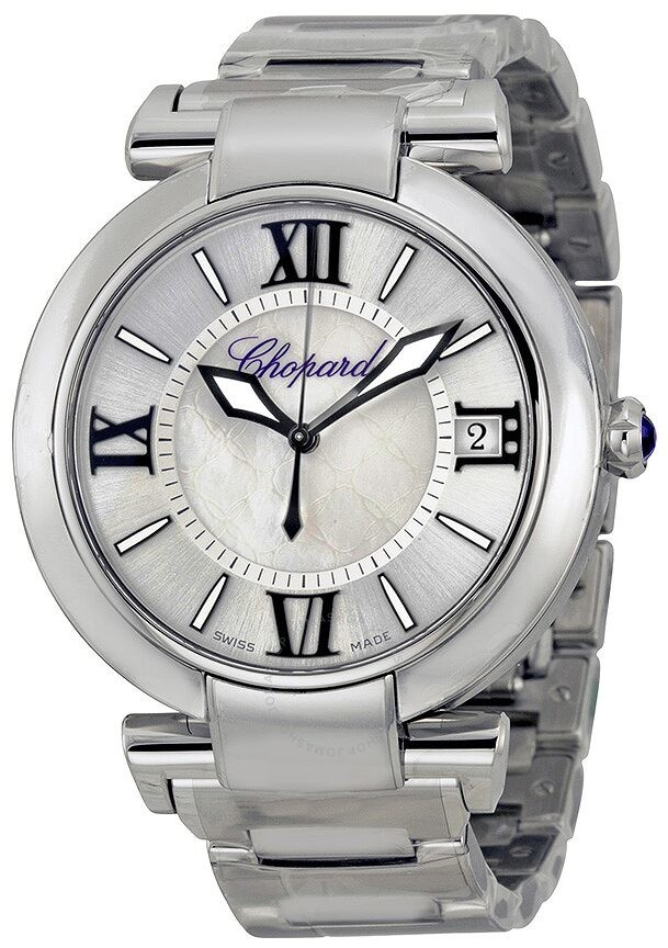Chopard Imperiale Silver Mother of Pearl Dial Stainless Steel Men's Watch