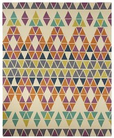 """Jaipur Catalina Area Rug - Papyrus/Chinese Violet, 5' x 7'6"""""""