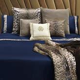 Roberto Cavalli Leopard Border Duvet Set - Super King - Blue