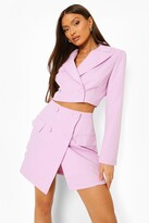 Thumbnail for your product : boohoo Mix & Match Wrap Mini Skirt