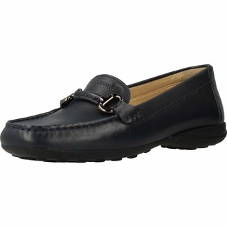 Geox Women's Euxo Leather Moccasin Shoe