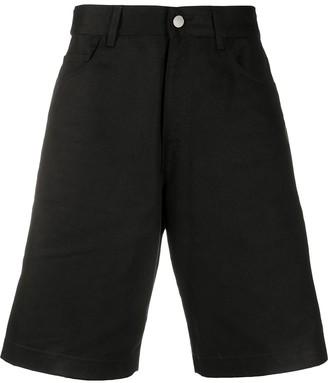 Raf Simons Wide-Leg Denim Shorts