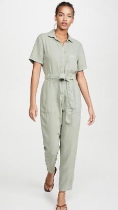 Bella Dahl Button Front Jumpsuit