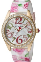 Betsey Johnson BJ00048-180 - Rose Print Silicone