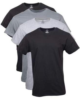 George Big Men's Crew T-Shirts, 4-Pack