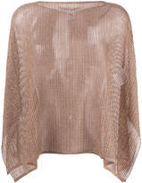M Missoni lurex cape jumper