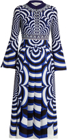 Mary Katrantzou Desmine optic-print midi dress