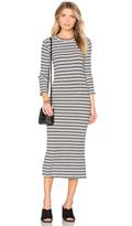 Monrow Stripe Sweater Dress