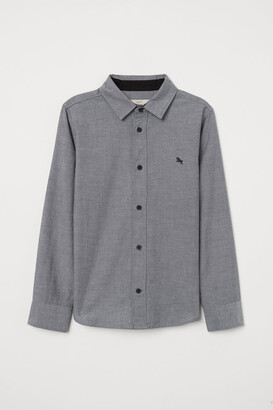 H&M Cotton Shirt - Gray