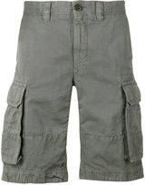 Incotex cargo shorts - men - Cotton/Linen/Flax - 33