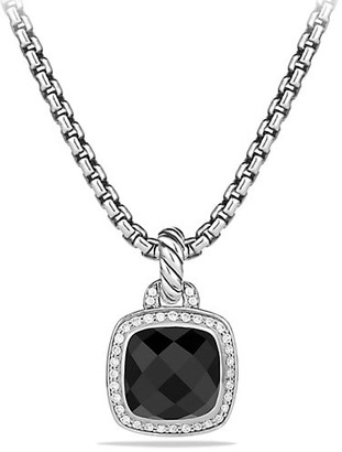 David Yurman Albion Pendant with Gemstone & Diamonds