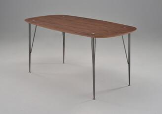 Fox Imports Sixty2 Dining Table Walnut 220cm