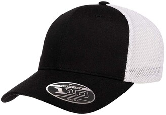 Flexfit Flex fit Men's 110 Recycled Trucker Mesh Cap-2-Tone