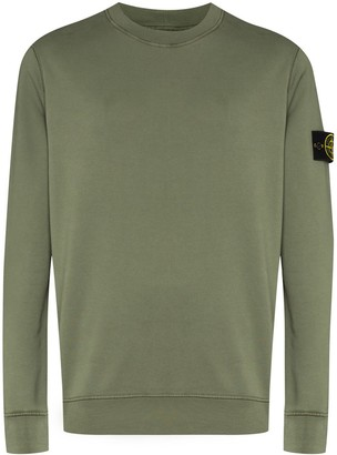 Stone Island Logo-Appliqued Sweatshirt