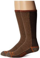 Dickies Men's 2 Pack Steel Toe Cotton Crew Socks