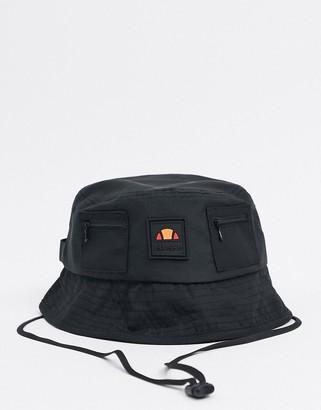 Ellesse Zarala bucket hat in black