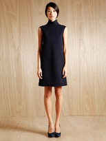 Women's Wool Turtleneck Dress