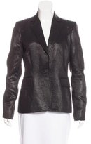 Just Cavalli Metallic Notch-Lapel Blazer
