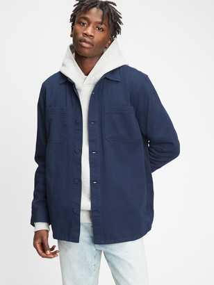 Gap Twill Shirt Jacket