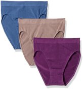 Wacoal Women's B-Smooth Hi-Cut Brief Panty Pack