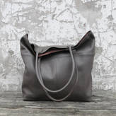 Aura Que Leather Mira Large Tote Bag