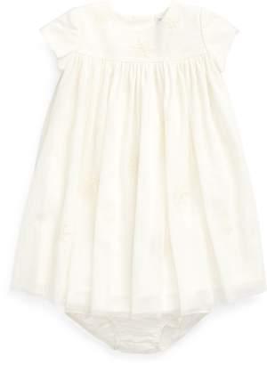 Ralph Lauren Embroidered Dress & Bloomer