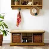 Beachcrest Home Brennan Upholstered Storage Bench Set