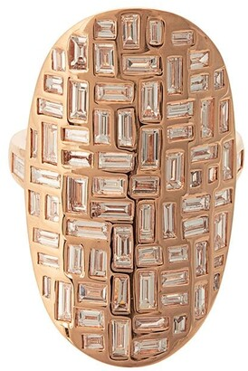 Anita Ko 18kt rose gold Mosaic diamond ring