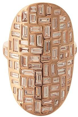 Anita Ko 18kt rose gold Mosaic diamond ring