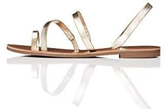 Amazon Brand - find. Women's Multi-Strap Flat Gladiator Sandals