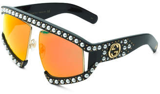 Made In Italy 63mm Oversize Designer Sunglasses