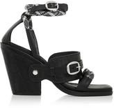Rag and Bone Rag & bone Roni croc-effect leather sandals