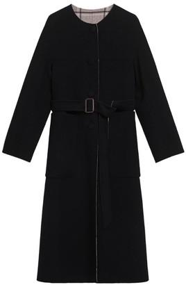 Max Mara Reversible Virgin Wool Coat