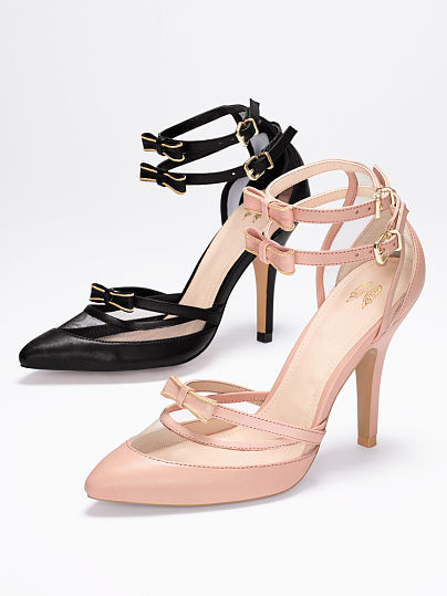 Victoria's Secret Collection Double-strap Pointed Pump