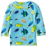 Pumpkin Patch Baby Boys Aquarium Adventure Tropical Long Sleeve Trunks
