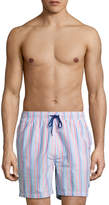Brooks Brothers Men's Multi Seer Swim Trunks