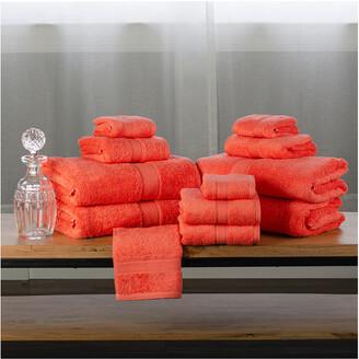 Superior Organic Cotton Terry 12Pc Towel Set