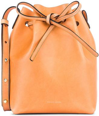 Mansur Gavriel Mini Bucket Bag in Cammello   FWRD
