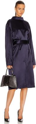 Balenciaga Back To Front Dress in Dark Navy | FWRD