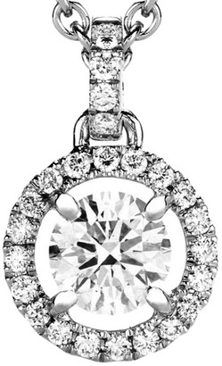 De Beers My First Aura 18K White Gold & Diamond Pendant