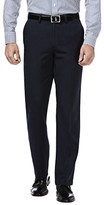 Haggar Performance Microfiber - Straight Fit, Flat Front, Flex Waistband