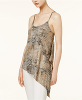 Bar III Asymmetrical Tank Top, Only at Macy's