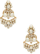Anton Heunis Amazonia Pearl and Crystal Earring