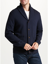John Lewis Shawl Neck Cardigan, Navy