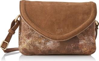 Mila Louise Women's 3272MC-57 Cross-Body Bag Brown Brown (CANNELLE 57)