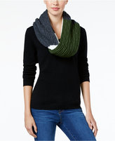 MICHAEL Michael Kors Rib Cable-Knit Colorblock Infinity Scarf